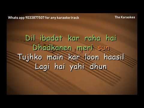dil-ibadat-karaoke-unplugged-l-tum-mile-l-k.k