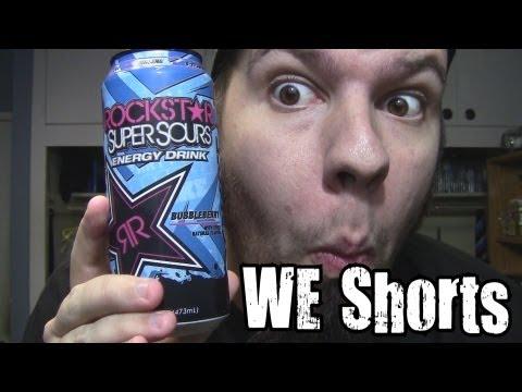 WE Shorts - Rockstar Super Sours Bubbleberry Energy Drink