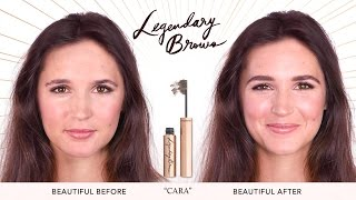 How To: Eyebrows Tutorial For Uneven Brows | Charlotte Tilbury
