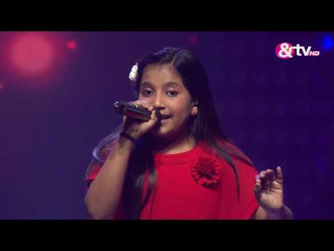Shreya Basu - Tere Bina Jiya Jaaye Na - Liveshows - Episode 20 - The Voice India Kids