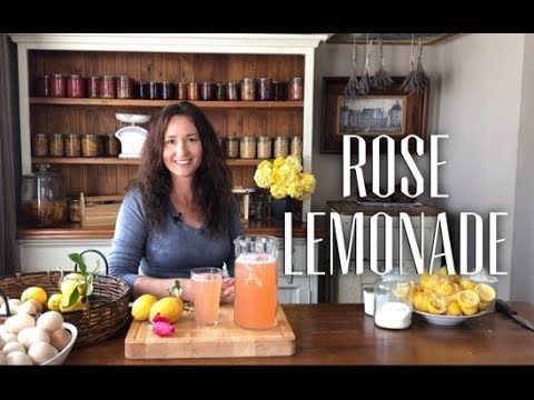 Old Fashioned Rose Lemonade