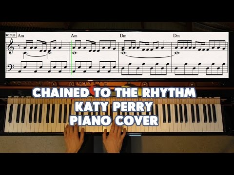 Chained To The Rhythm - Katy Perry, Skip Marley - Piano Cover Video by YourPianoCover