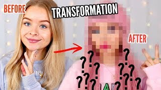 NOT MY STYLE- TRANSFORMING MYSELF, MAKEUP, HAIR, OUTFIT | sophdoesnails