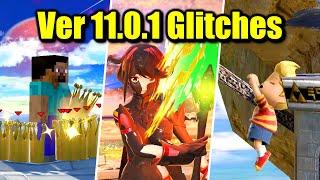 14 Glitches in Super Smash Bros. Ultimate (Version 11.0.1)