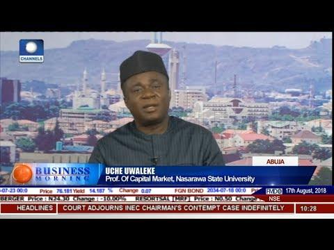 Understanding The New Framework For Nigeria's Economic Development Pt 1 | Business Morning |