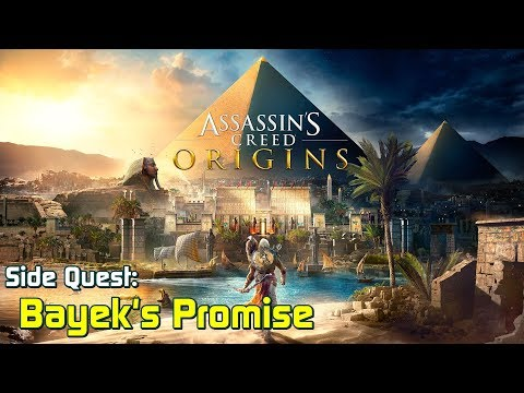 Assassin's Creed Origins ★ Side Quest: Bayek's Promise (All Stone Circles) [ Walkthrough ]