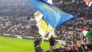 JUVENTUS 3-0 inter - Coppa Italia: Cori della Curva Sud