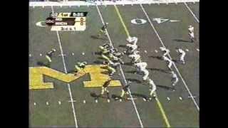 2003: Michigan 38 Notre Dame 0 (PART 1)