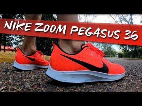 Nike Zoom Pegasus 36 Análisis y diferencias con el 35 - YouTube