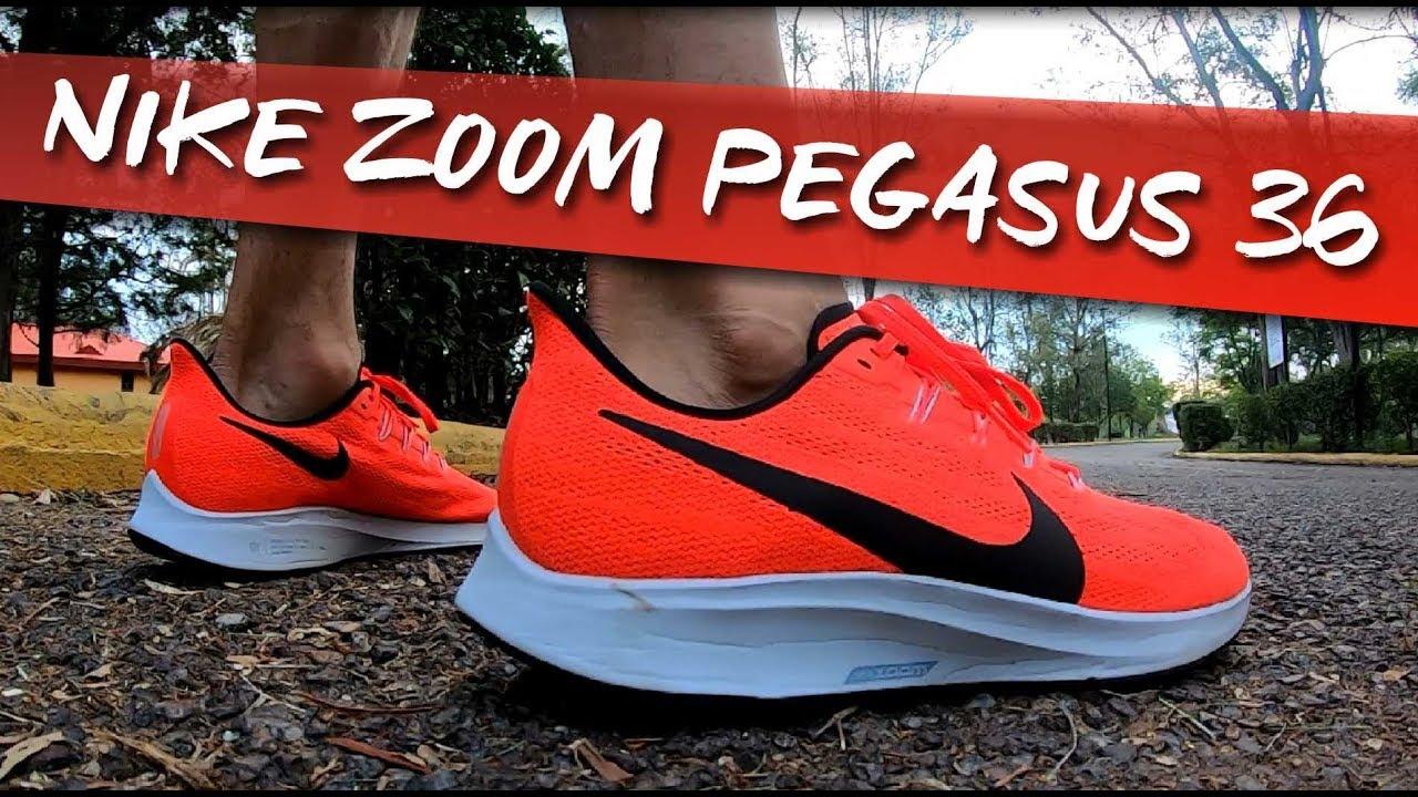 Nike Zoom Pegasus 36 Análisis y diferencias con el 35