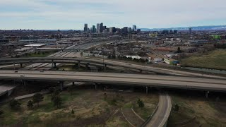 Video shows empty streets in Denver due to virus