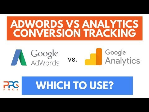 AdWords Vs Google Analytics Conversion Tracking  - Which To Use?