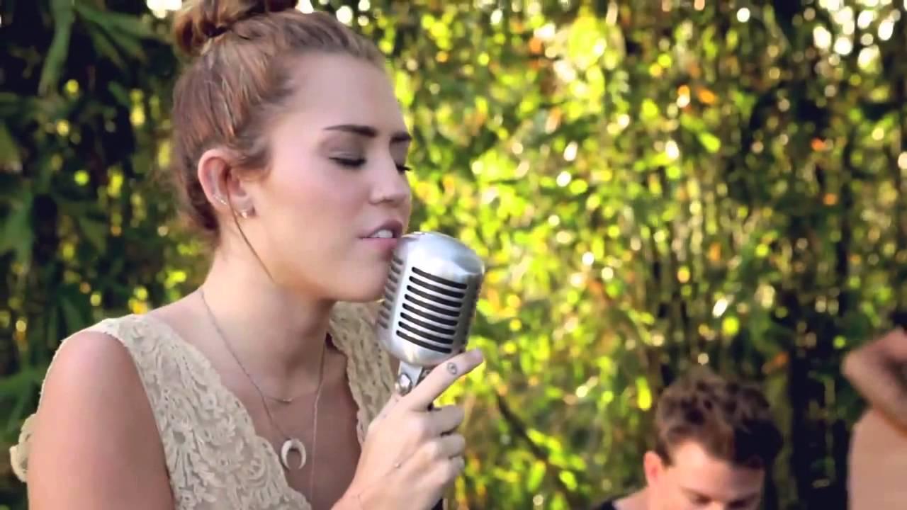 Miley Cyrus The Backyard Sessions Jolene - YouTube