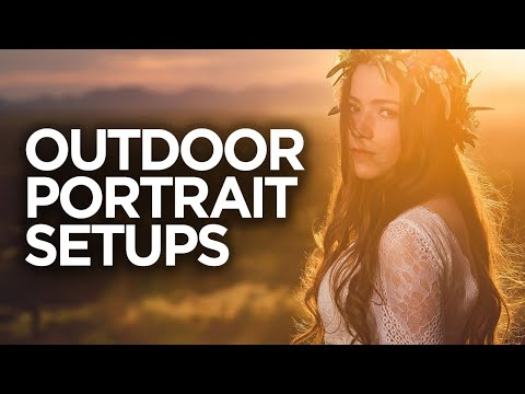 Outdoor Portrait Lighting Setups With MagMod