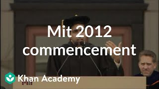 Salman Khan gives commencement address at MIT (2012) More free less...