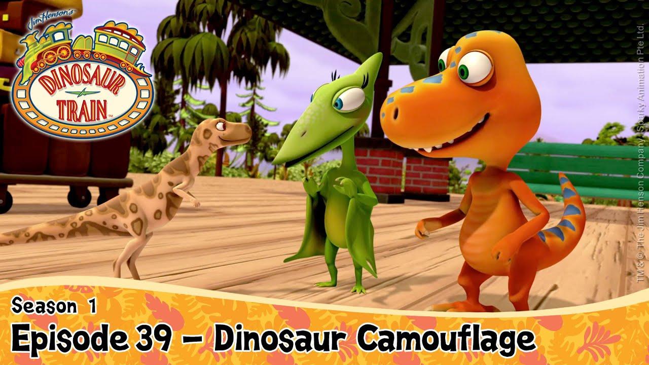 DINOSAUR TRAIN SEASON 1 : Episode 39 - Dinosaur Camouflage ...