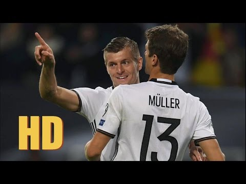 Toni kroos amazing goal - Germany vs Czech Republic 3-0 Europe World Cup Qualification 2018 HD