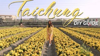 Taipei to Taichung Travel Guide (Rainbow Village & Zhong She Flower Farm)