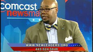 donald fennoy on comcast newsmakers baltimore new leaders program
