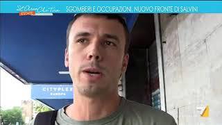 Sgomberi e occupazioni, nuovo fronte di Salvini