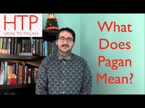 What Does Pagan Mean?