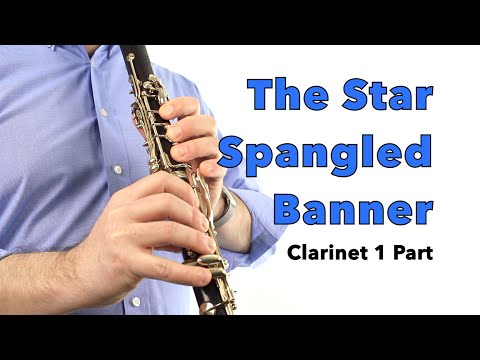 Star-Spangled Banner (arr. Mark Williams) CLARINET 1