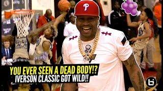 Allen Iverson Witnesses MURDER!!! Tre Mann Hits a MEAN JELLY! Iverson Classic Got WILD!!