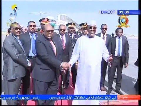 زيارة الرئيس البشير إلى تشاد للمشاركة في العيد الوطني ال27 ليوم الحرية و الديمقراطية