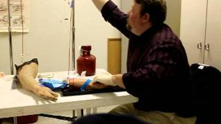 Paramedic Skill Intravenous line initiation and medication administration