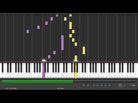 Synthesia Piano 陳奕迅 愛情轉移 鋼琴版