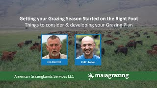 MaiaGrazing Scholars - Getting your Grazing Season Started on the Right Foot