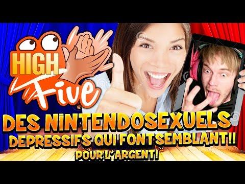 High Five ! Des Nintendosexuels Depressifs Sur YouTube Qui Font Semblant Pour l'Argent ?!