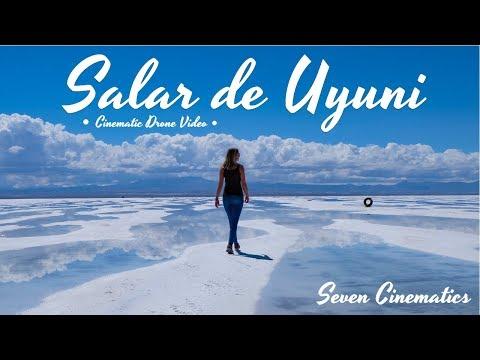 Salar De Uyuni | 4 Day Tour | Bolivia | Cinematic Drone Video 4K