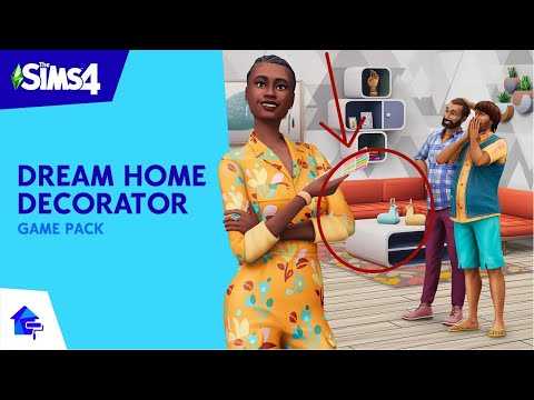 WATCH THIS IF YOU HAVE NOT BOUGHT THE SIMS 4 DREAM DECORATOR GAME PACK YET |