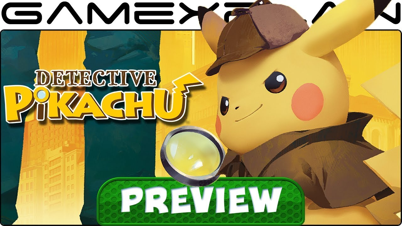 We Played Detective Pikachu For 45 Minutes In English Hands On