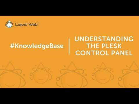 Understanding the Plesk Control Panel
