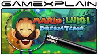 Mario & Luigi: Dream Team - Gameplay Analysis (secrets & Hidden Details)
