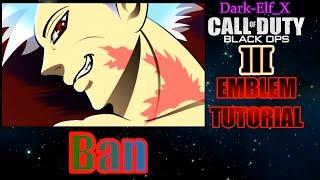 Black Ops 3 Emblem - Ban (The Seven Deadly Sins)