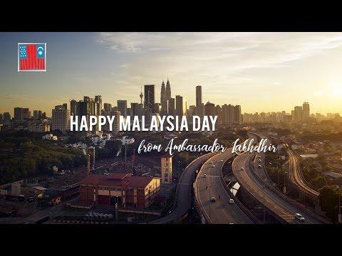 #SelamatHariMalaysia from The Embassy of the United States and Ambassador Kamala Shirin Lakhdhir!