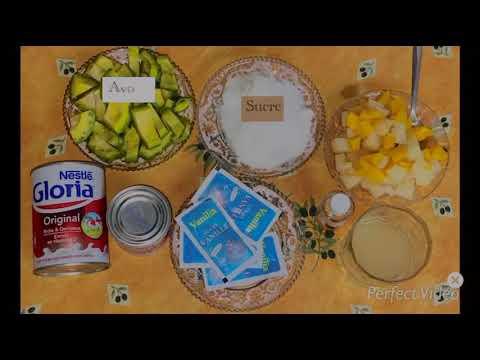 recette-du-dessert-d'avocat-au-lait