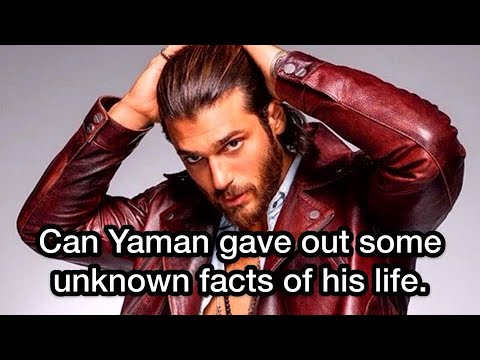 Can Yaman Gave Out Some Unknown Facts Of His Life  Jan Yaman  Can Yaman  Turkish Actors