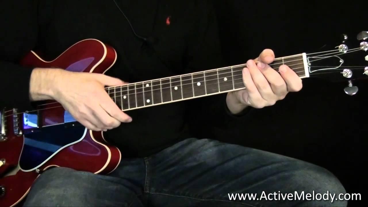 Rhythm Guitar Lesson Chord Variations Youtube