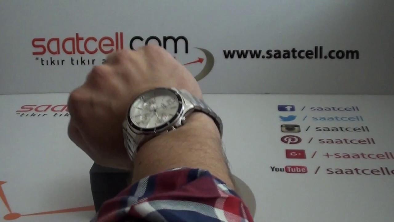 Casio Erkek Kol Saati Mtp 1374d 7av Inceleme Ayarlama Youtube