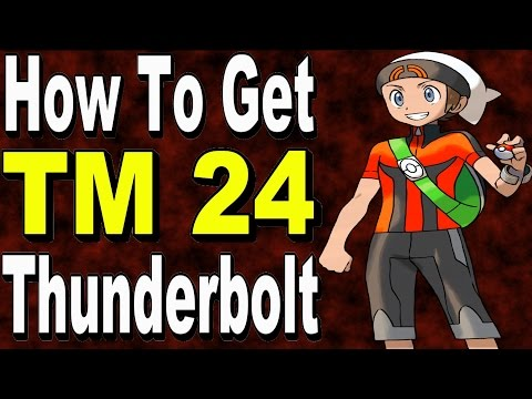 How to Get TM24 Thunderbolt in Pokemon Omega Ruby and Alpha Sapphire ORAS