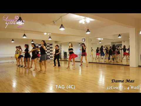 Dame Mas Line Dance
