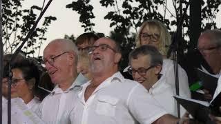 """succès de la #chanson #italienne par la #chorale """" les chants de Tau """""""