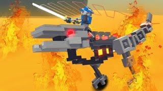 ЧЕЛЛЕНДЖ ОГНЕННЫХ ЯЩЕРОВ  Clone Drone In The Danger Zone 16 Raptor challenge
