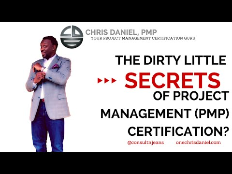 The Dirty Little Secrets about the PMP Certification