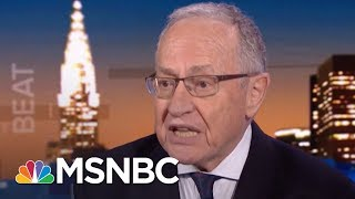 Dershowitz: Sean Hannity Wrong For Keeping Trump Lawyer\'s Secret | The Beat With Ari Melber | MSNBC