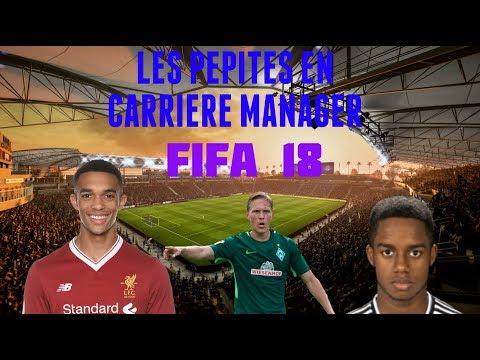 LES  PEPITES LES MOINS CHERS SUR FIFA 18 EN CARRIERE MANAGER